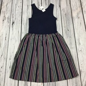 Gap Girls XS S M L XL 2XL Navy Blue Tank Top Dress
